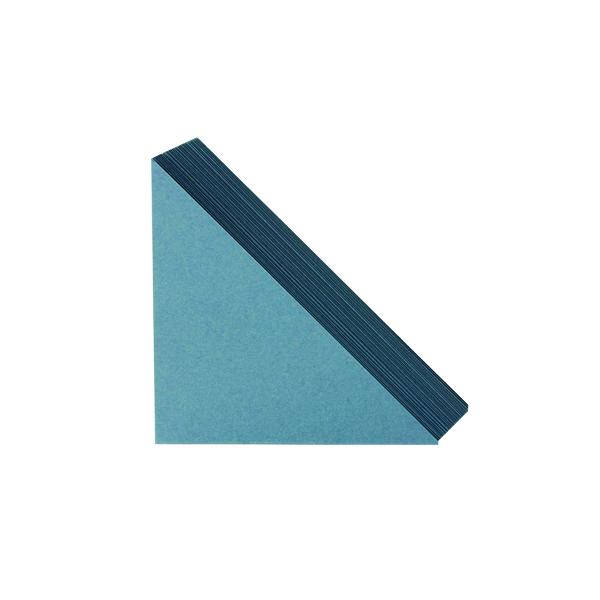 Corners Exacompta Guildhall Legal Corners 315gsm Blue (100 Pack) GLC-BLU