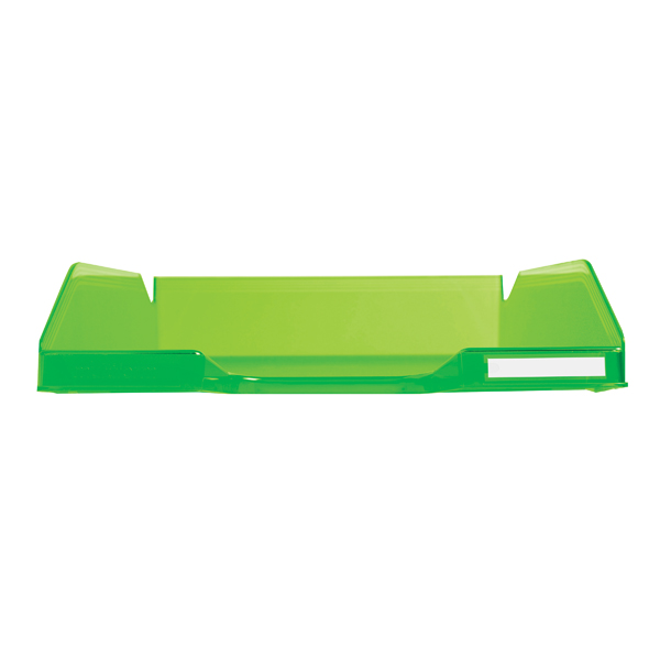Letter Tray Exacompta Iderama Letter Tray Lime 11397D