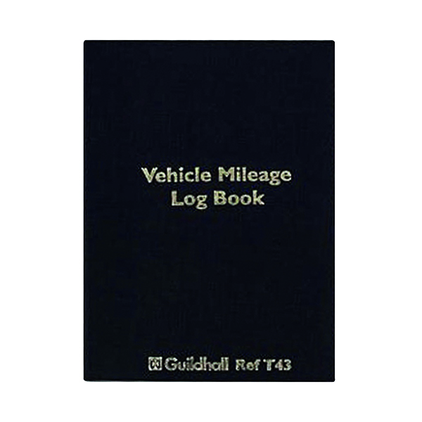 Unspecified Exacompta Guildhall Vehicle Mileage Log Book T43
