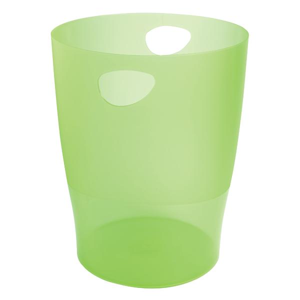 Exacompta Iderama Waste Bin Lime 45397D