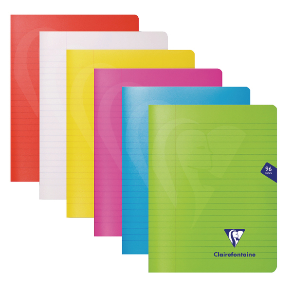 Clairefontaine Mimseys Notebook A5 Assorted (10 Pack) 303745C