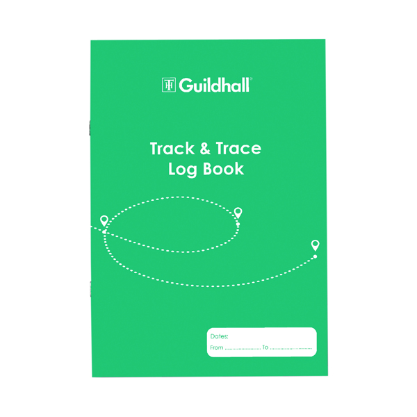 Unspecified Guildhall Track/Trace Pad A4 32 Pages 2020TTZ
