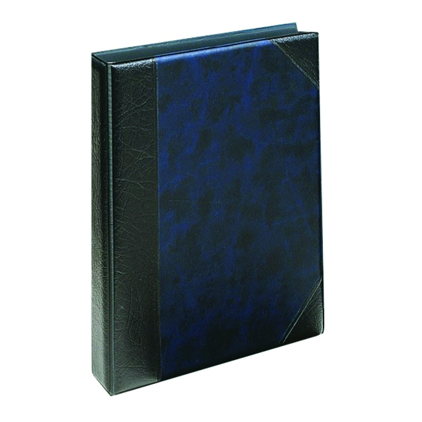 Exacompta Guildhall Telephone Address Book A5 Blue DTAA5/BL