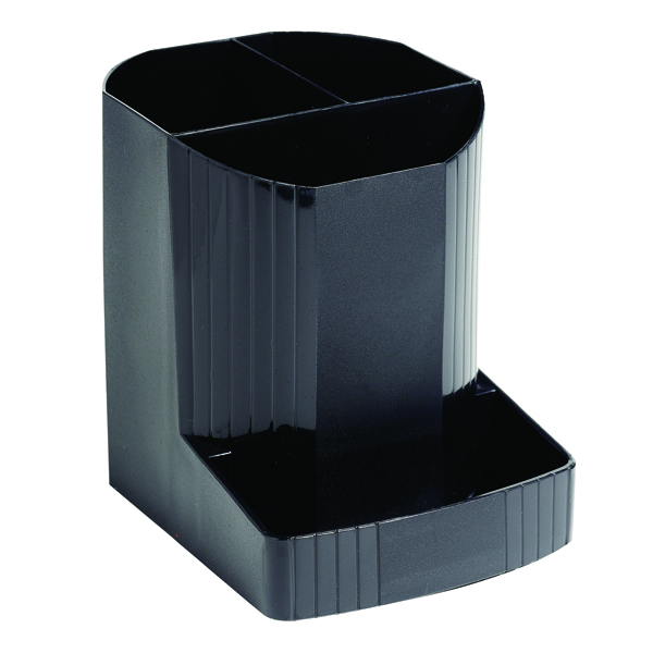 Cup Exacompta Forever Pen Pot Black 675014D
