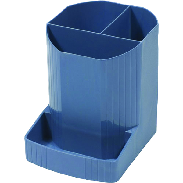 Cup Exacompta Forever Pen Pot Blue 675101D