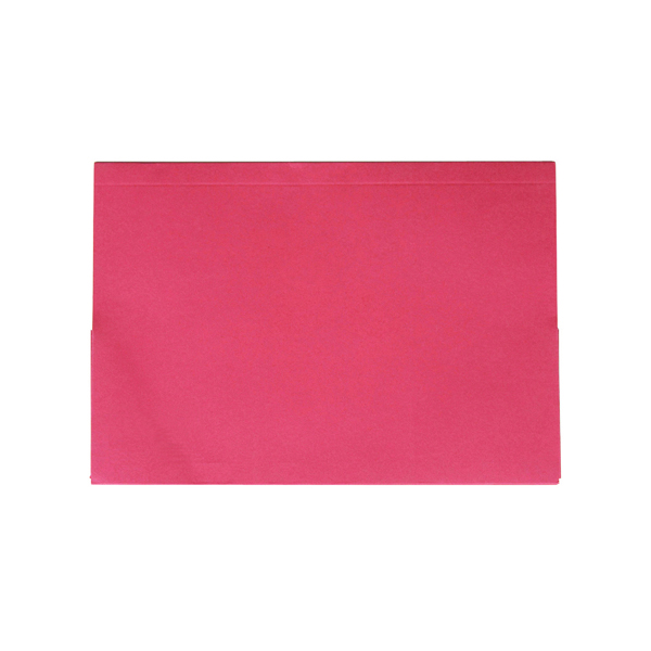 Exacompta Guildhall Legal Double Pocket Wallet Foolscap Red (25 Pack) 214-RED