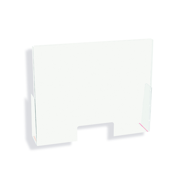 Eye / Face Protection Exacompta Sneeze Guard POS And Cash Register 15x30cm 80458D