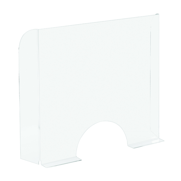 Eye / Face Protection Exacompta Sneeze Guard Cashier Protection Stand 95x68cm 80058D