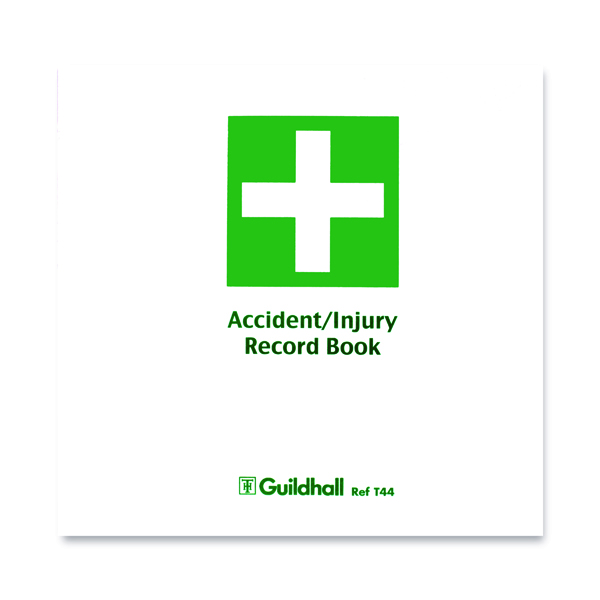 Unspecified Guildhall Accident Book (5 Pack) T44