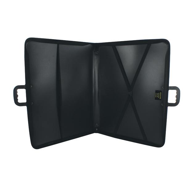 A3 Size Goldline Zip Portfolio A3 Black ZPC/A3