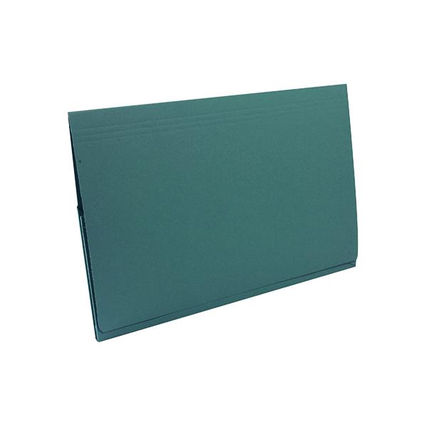 Exacompta Guildhall Full Flap Pocket Wallet Foolscap Blue (50 Pack) PW2-BLU