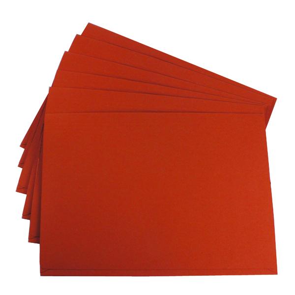 Exacompta Guildhall Brief Size Pocket Wallet 14x10in Orange (50 Pack) PW3-ORG