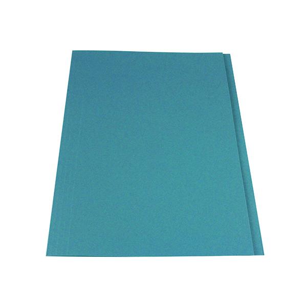 Exacompta Guildhall Square Cut Folder 315gsm Foolscap Blue (100 Pack) FS315-BLUZ