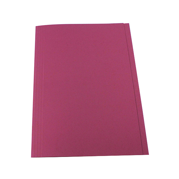 Exacompta Guildhall Square Cut Folder 315gsm Foolscap Pink (100 Pack) FS315-PNKZ