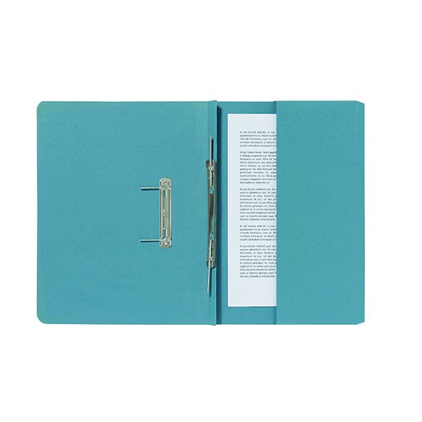 Exacompta Guildhall Pocket Spiral File 285gsm Blue (25 Pack) 347-BLUZ