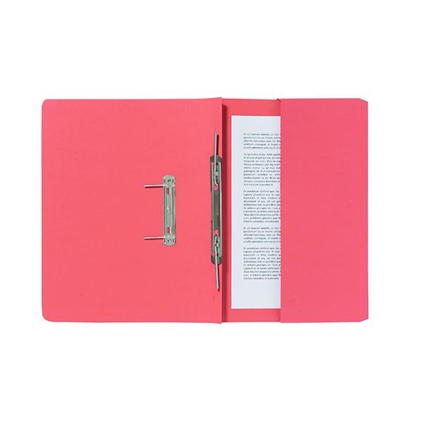 Exacompta Guildhall Pocket Spiral File 285gsm Orange (25 Pack) 347-ORGZ