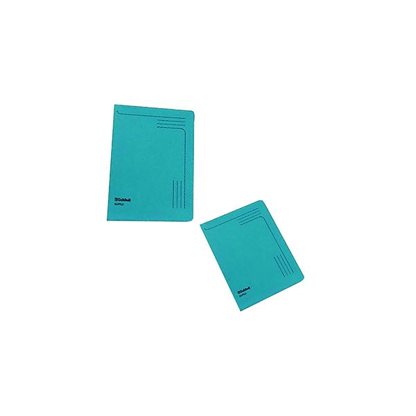 Files Exacompta Guildhall Slipfile Manilla 230gsm Blue (50 Pack) 4601Z