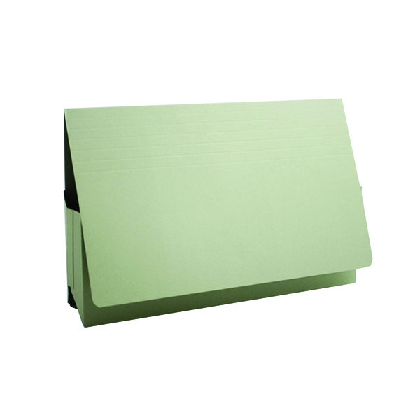 Legal Filing Exacompta Guildhall Probate Document Wallet 315gsm Green (25 Pack) PRW2-GRN
