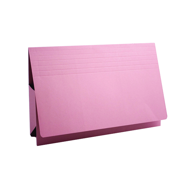 Wallets Exacompta Guildhall Probate Document Wallet 315gsm Pink (25 Pack) PRW2-PNK