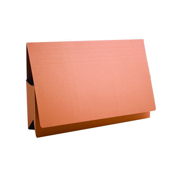 Legal Filing Exacompta Guildhall Probate Document Wallet 315gsm Orange (25 Pack) PRW2-ORG