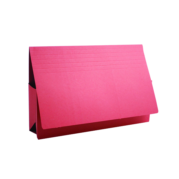 Wallets Exacompta Guildhall Probate Document Wallet 315gsm Red (25 Pack) PRW2-RED