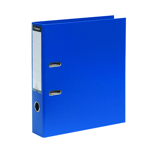 A4 Size Exacompta Guildhall 70mm Lever Arch File A4 Blue (10 Pack) 222/2001Z