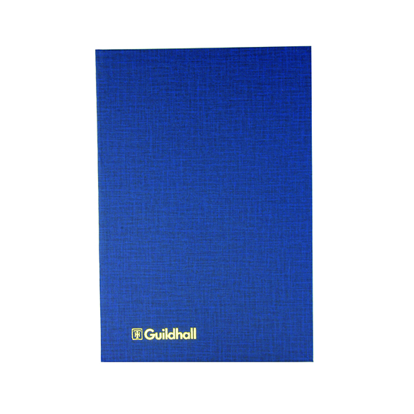 Exacompta Guildhall 4 Cash Columns Account Book 80 Pages 31/4 1016
