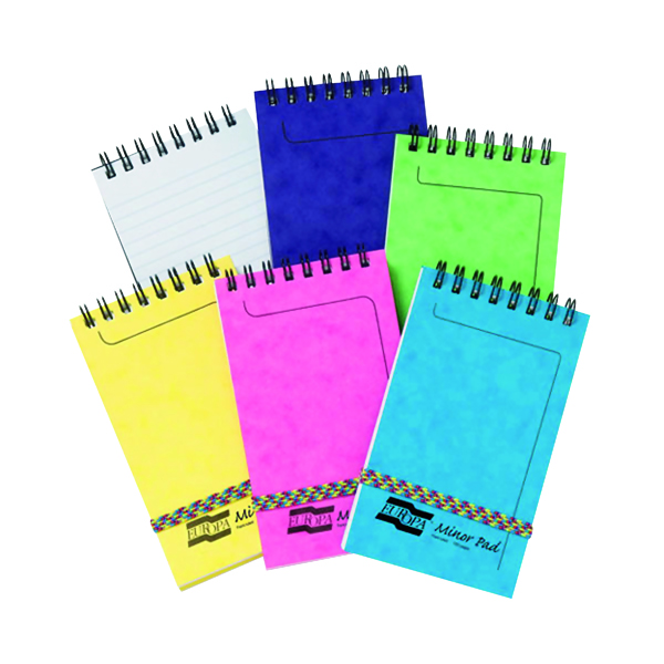 Other Clairefontaine Europa Minor Notemaker 127x76mm Assorted C (20 Pack) 3151