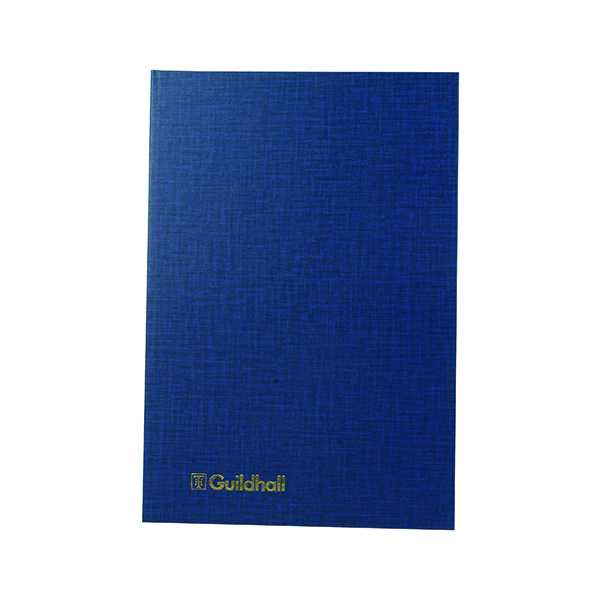 Exacompta Guildhall 7 Cash Columns Account Book 80 Pages 31/7 1019