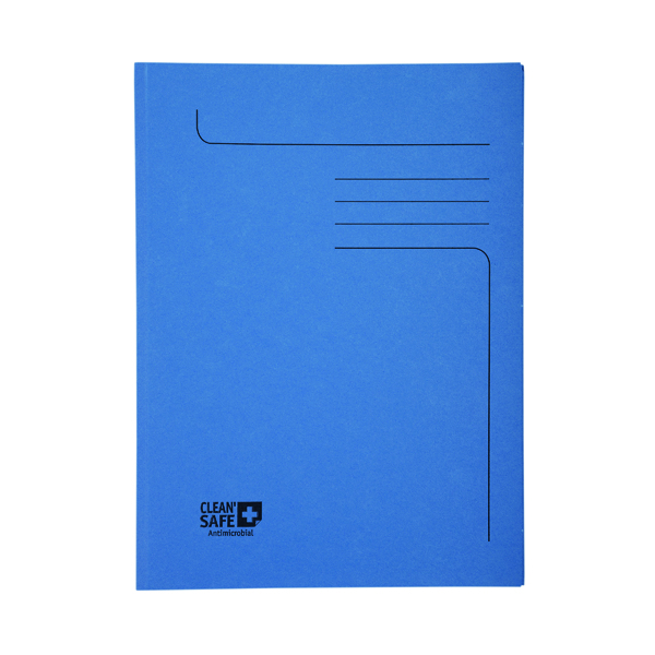 Unspecified Exacompta Clean Safe 2 Flap Folders A4 (5 Pack) 33122E