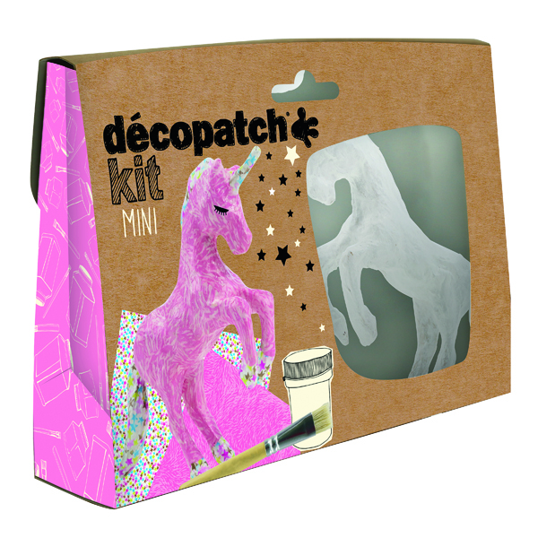 Paper Decopatch Mini Kit Unicorn (5 Pack) KIT009O