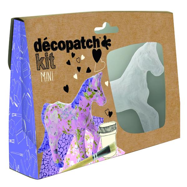Decopatch Mini Kit Horse (5 Pack) KIT010O
