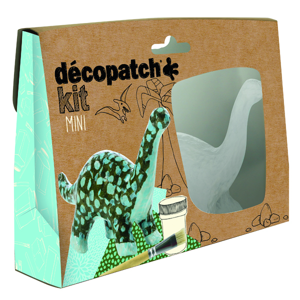 Paper Decopatch Mini Kit Dinosaur (5 Pack) KIT011O