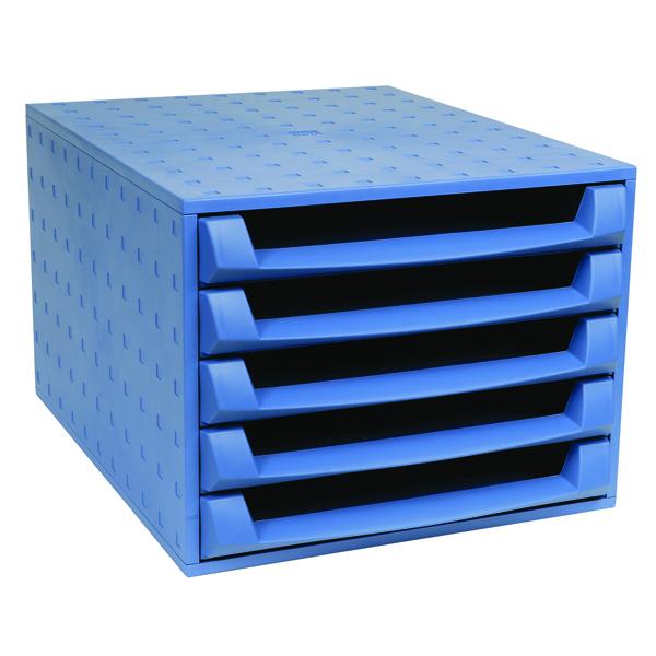 5 Drawer Forever Blue 5-Drawer Set 221101D