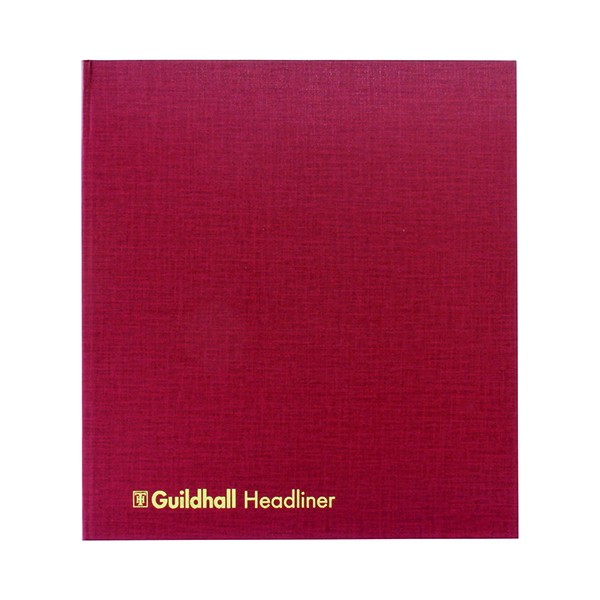 Accounts Books Exacompta Guildhall 298x273mm Headliner Book 80 Pages 48/21 1290