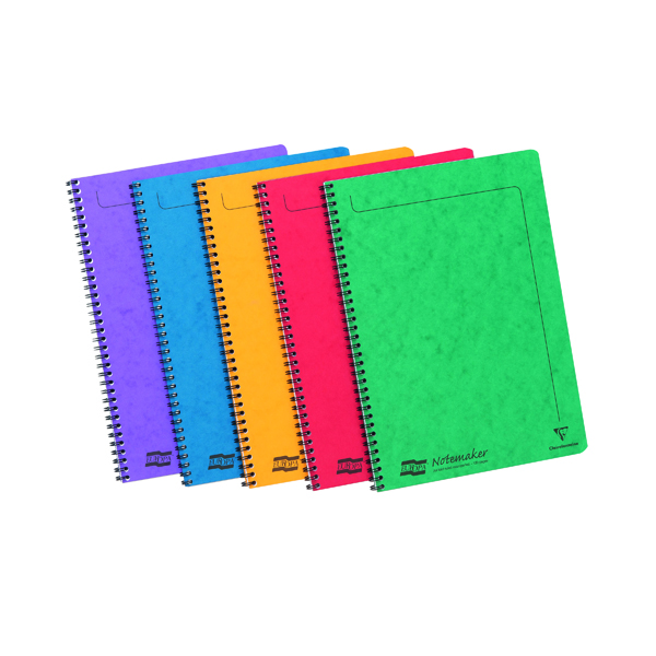 A4 Clairefontaine Europa Notemaker A4 Assortment A (10 Pack) 4860