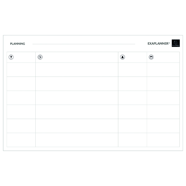 Unspecified Exacompta Magnetic Team Planner 57170E