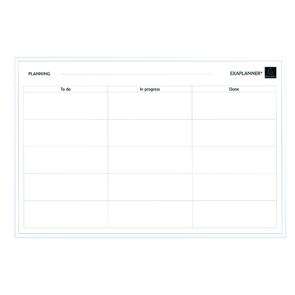 Unspecified Exacompta Magnetic To Do List 57180E