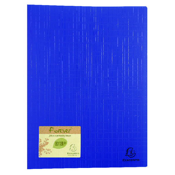 Exacompta Forever Display Book 40 Pocket Blue (12 Pack) 884572E