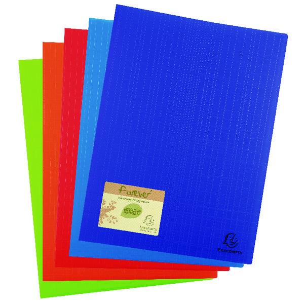 Exacompta Forever Display Book 30 Pocket Assorted (12 Pack) 883570E