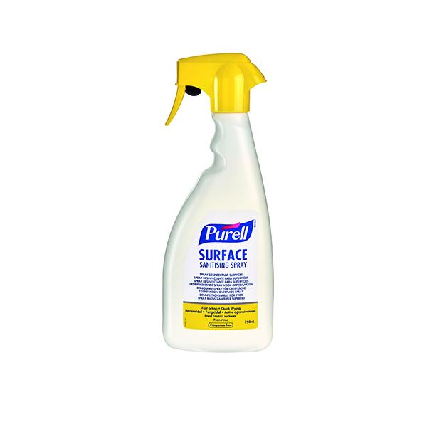Hand Soaps & Dispensers Purell Surface Sanitising Spray 750ml 32675-06-EEU