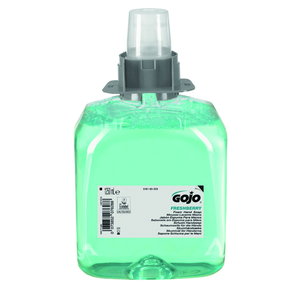 Floor Cleaning Gojo Freshberry Foam Hand Soap FMX 1250ml 5161-03-EEU