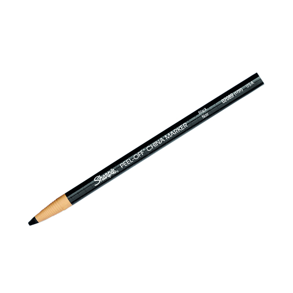 Crayon Sharpie China Marker Black (12 Pack) S0305071