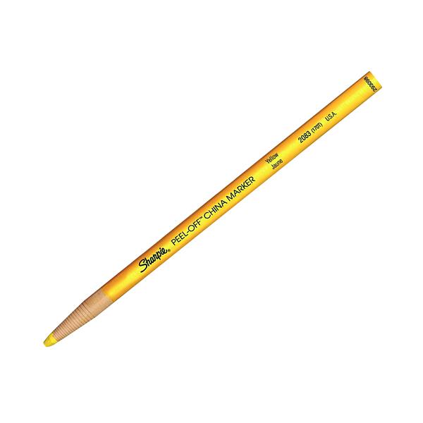 Sharpie China Marker Yellow (12 Pack) S0305101