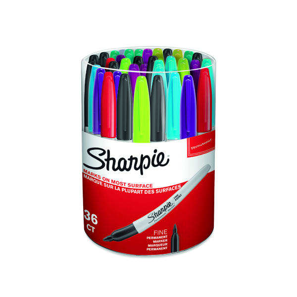 Unspecified Sharpie Fine Assorted Permanent Marker (36 Pack) S0811090