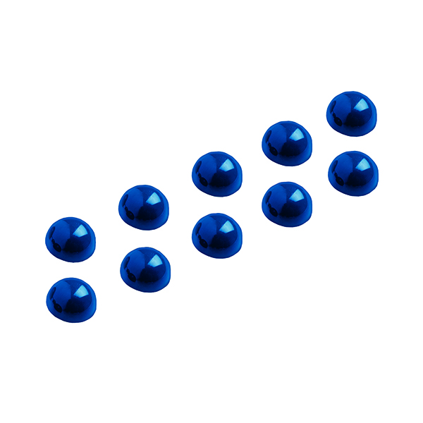 Maul Dome Magnet 30mm Blue (10 Pack) 6166035