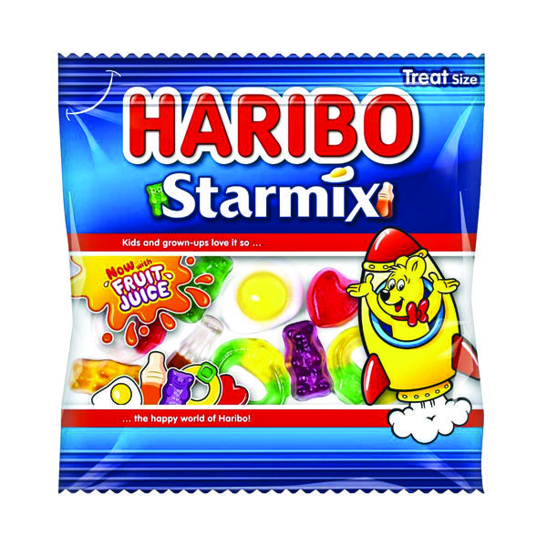 Sweets/Chocolate Haribo Starmix Small Bag (100 Pack) 72443