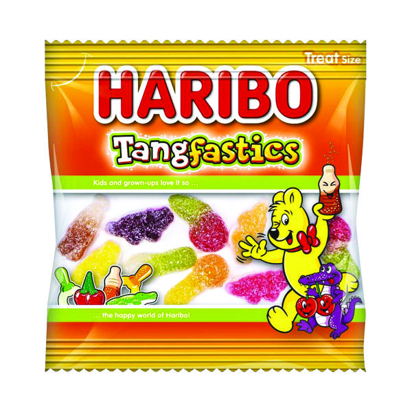 Sweets/Chocolate Haribo Tangfastics Small Bag (100 Pack) 73143