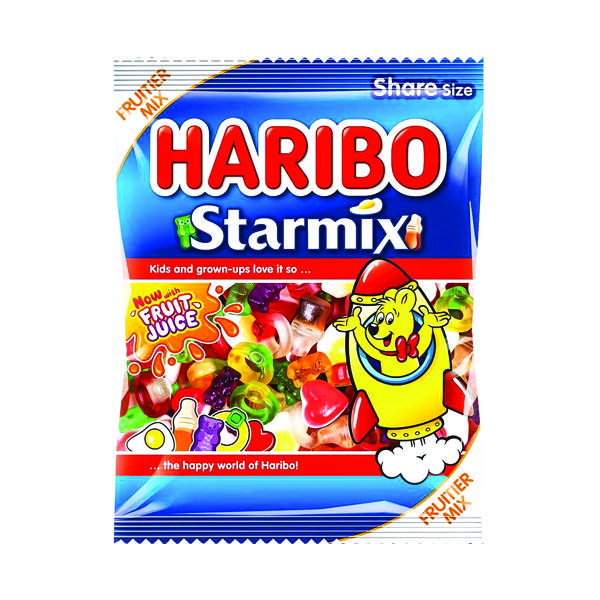 Sweets/Chocolate Haribo Starmix 140g Bag (12 Pack) 730730