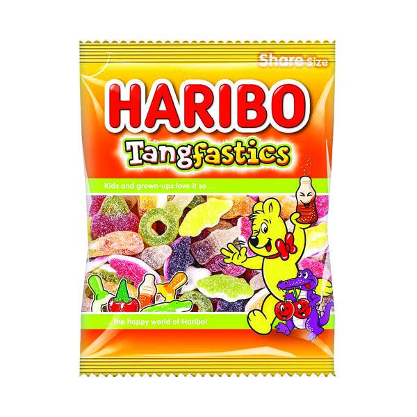 Sweets / Chocolate Haribo Tangfastics 140g Bag (12 Pack) 145730